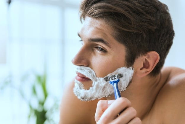 Shave or Trim Beard and Other Hairy Areas   Airbrush Tanning Tips for Men   spray tan tips